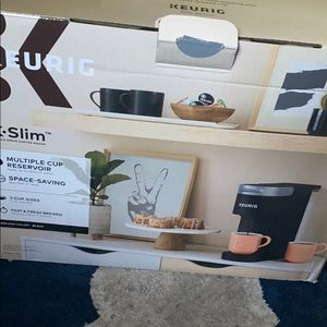 Keurig slim coffee maker
